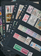 ANDORRE 1962/1983 NICE SELECTION MNH COTE YVERT + 700 EUROS - Andorra Francesa