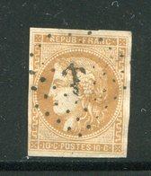 Y&T N°43- Ancre Noire - 1870 Ausgabe Bordeaux