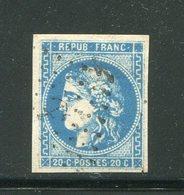 Y&T N°46- Ancre Noire - 1870 Emissione Di Bordeaux