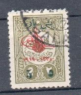 TURCHIA 1917/18    5 / 2 Pa - 1858-1921 Ottoman Empire