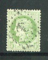 Y&T N°53- Ancre Noire - 1871-1875 Ceres