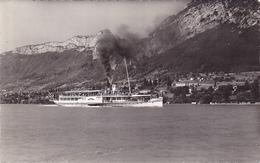 """Cpa -74-lac D'annecy, Bateau """"france"""" , Mont Veyrier-edi Gil N°1518 - Autres Communes"""
