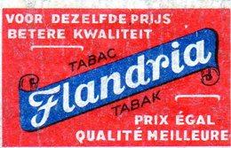 Flandria Tabac 1 - Matchbox Labels