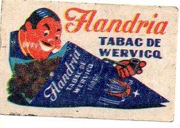 Flandria Tabac De Wervicq - Matchbox Labels