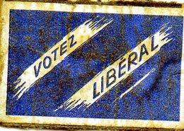 Votez Liberal - Matchbox Labels