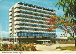 KADUNA HOTEL KADUNA, NIGERIA, PC , Circulated 1960 - Nigeria