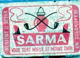 Sarma Pipe - Matchbox Labels