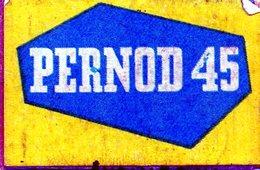 Pernod 45 - Matchbox Labels