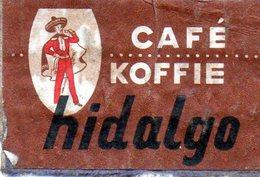 Café Hidalgo - Matchbox Labels