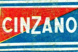 Cinzano Alcool - Matchbox Labels