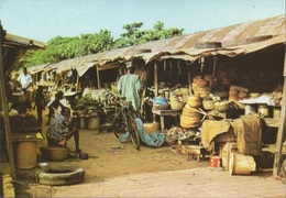 LAGOS SABO MARKET, NIGERIA, PC , Circulated 1960 - Nigeria