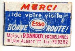 Esso Dandoy Erquelinnes - Matchbox Labels