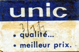 Unic - Matchbox Labels