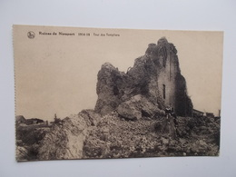NIEUPORT - Ruïnes 1914 - 18 Tour Des Templiers  - NO REPRO - Nieuwpoort