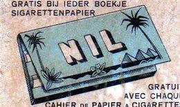 Nil Cahier De Papier A Cigarette - Matchbox Labels