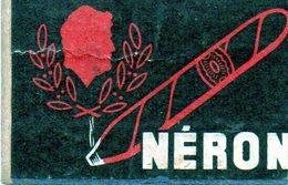 Néron Cigare - Matchbox Labels