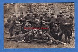 CPA Photo -  à Situer - Portrait De Poilu Du 166e Régiment - Voir Uniforme , équipement , Fusil Arme Gun - WW1 Soldat - Guerra 1914-18