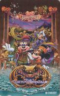 Télécarte NEUVE Japon - DISNEY SEA - HALLOWEEN 2012 - Mickey Minnie - Japan MINT Phonecard - Disney