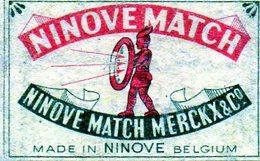Ninove Match Merckx Flèche Guerrier - Matchbox Labels
