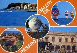 Saluti Da Pesaro - 25 - Formato Grande Non Viaggiata – E 7 - Pesaro