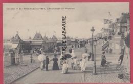 14 - TROUVILLE SUR MER ---Promenade Des Planches--animé - Trouville
