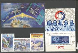 SSSR LOT OF SPACE STAMPS MNH - Timbres