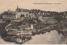 DE 10 -    SAINT BENOIT DU SAULT  -  VUE GENERALE  -  2 SCANS - France
