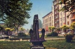 Legnano - Piazza Carroccio - Monumento Ai Marinai D'italia - Formato Grande Non Viaggiata – E 7 - Legnano