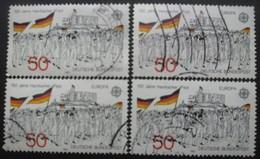 ALLEMAGNE N°962 X 5 Oblitéré - Briefmarken