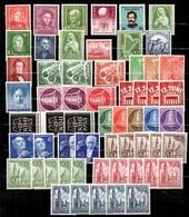 Allemagne/RFA Et Berlin Belle Collection Neufs ** MNH 1949/1955. Bonnes Valeurs. TB. A Saisir! - [7] République Fédérale