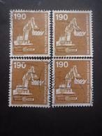 ALLEMAGNE N°972 X 4 Oblitéré - Stamps