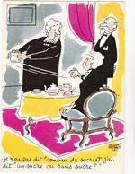 FAIZANT  Jacques  Ed Yvon  N°73  - Humour  Les Vieilles Dames  Sucre  -   CPSM  10,5x15 BE 1964 Neuve - Faizant