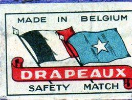 Drapeaux Belgique 1 - Matchbox Labels