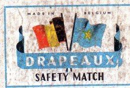 Drapeaux Belgique 2 - Matchbox Labels