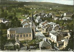 Chevron -- Vue Générale Aérienne - L' Eglise.  (2 Scans) - Stoumont