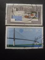 ALLEMAGNE N°1153 Et 1154 Oblitérés - Timbres