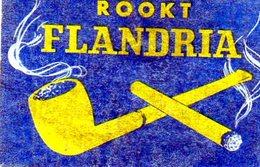 Flandria Rookt Pipe Cigarettes - Matchbox Labels