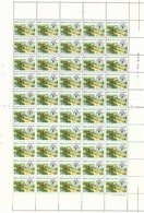 1981 SAUDI ARABIA World Food Day Full Sheet 50 Stamps MNH - Saudi Arabia