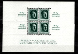 Allemagne/Reich Bloc-feuillet YT N° 10 Neuf ** MNH. B/TB. A Saisir! - Allemagne