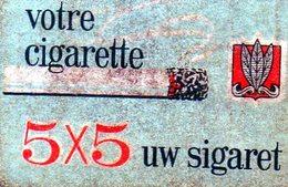 Votre Cigarette 5 X 5 - Matchbox Labels
