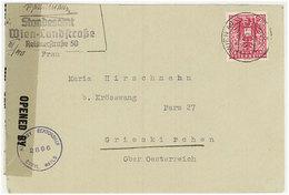 Austria/Österreich 1945 Cover - 1945-60 Briefe U. Dokumente