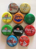 10 Different Capsules From Turkey Turquie - Soda