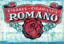 Romano Blason Cigares Cigarillos - Matchbox Labels
