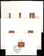 Allemagne/Reich 15 Blocs-feuillets Neufs Et Oblitérés 1936/1937. Bonnes Valeurs. B/TB. A Saisir! - Allemagne