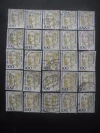 ALLEMAGNE N°1588 X 25 Oblitéré - Timbres