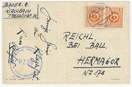 Austria/Österreich 1945 Pc - 1945-60 Briefe U. Dokumente