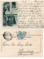 Sérénade A La Guitare Au Clair De Lune - 1900  (108793) - Couples