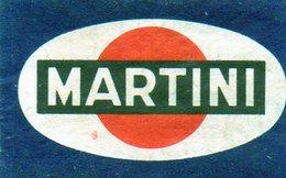 Martini - Matchbox Labels