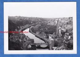 Photo Ancienne Snapshot - DINAN - Vue Des Remparts - 13 Aout 1951 - Bretagne Cotes D'Armor - Boats