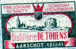 Fine Domaine Du Marty Distillerie De Torens Aarschot - Matchbox Labels